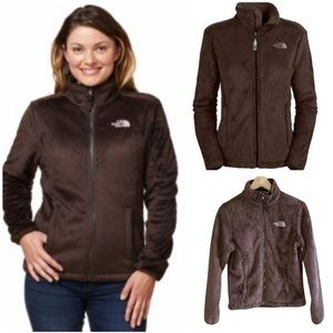 SALE❤️ THE NORTH FACE BROWN FLEECE JACKET